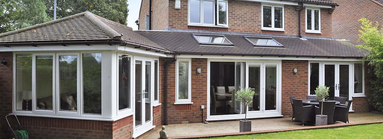 Single Storey Extension and patio by MPG Construction