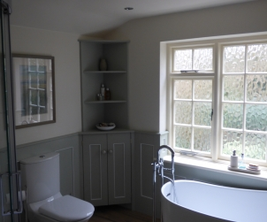 Hand-made bathroom furniture - Bathroom renovation, penn, buckinghamshire