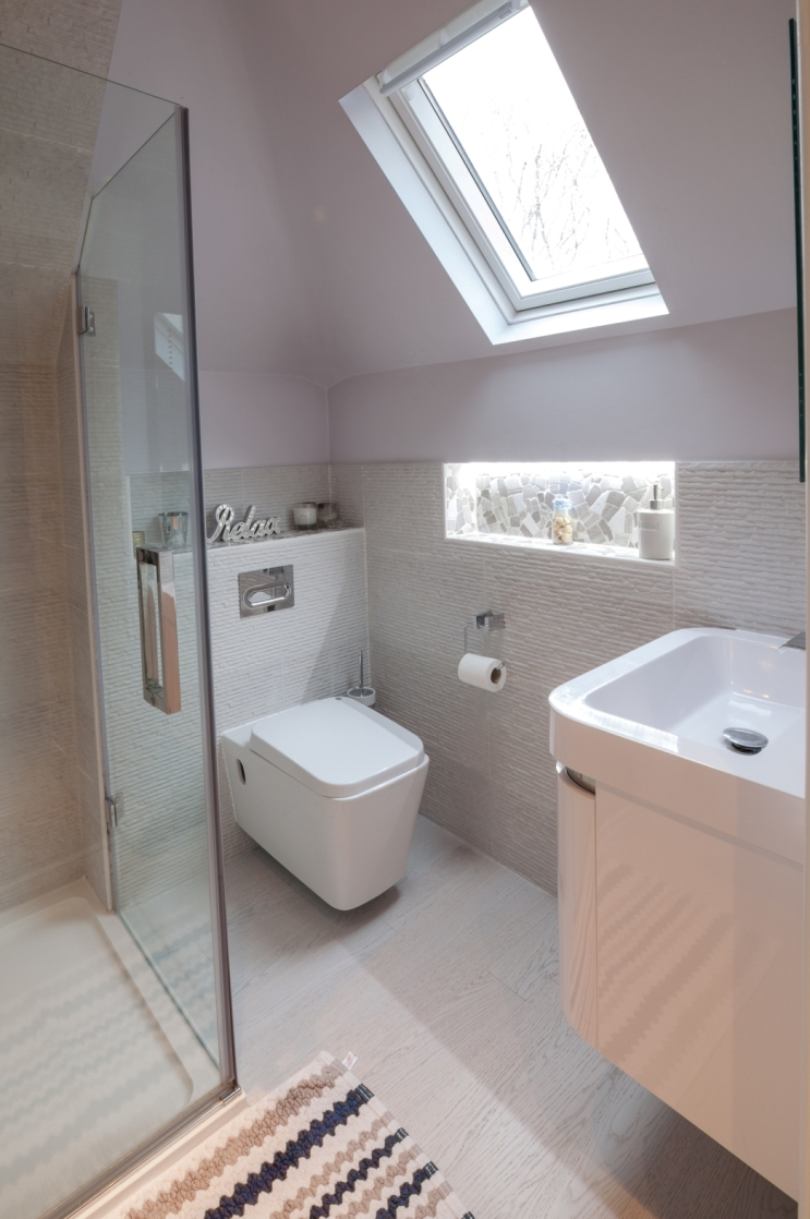 Bathroom renovation and installation including bespoke shower screen